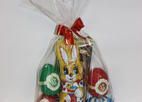 Set of products from milk chocolate the easter, 130-150g
